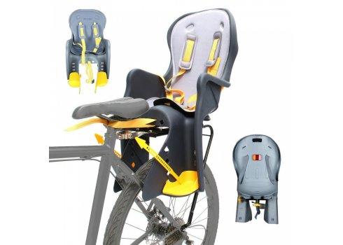 Велокресло Tilly T-841 до 22 кг, крепление сзади на багажник