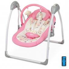 Детский укачивающий центр (напольные качели) от рождения, El Camino Airy ME 1047 Pink