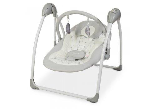 Детский укачивающий центр (напольные качели) для новорожденных El Camino Airy ME 1047 Stars Gray серый