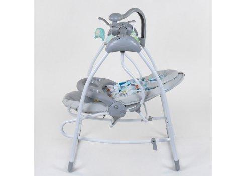 Детские электрокачели 3в1 (укачивающий центр) JOY СХ-40460