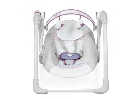 Детский укачивающий центр Mastela 6505 серо-фиолетовый