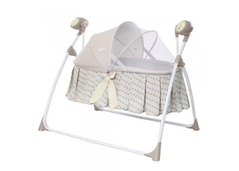 Люлька-кроватка и укачивающий центр 2 в 1 Carrello Dolce CRL-7501 Arrow Beige бежевый