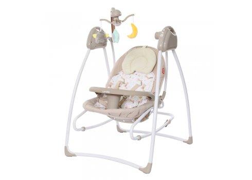 Кресло-качалка (укачивающий центр) CARRELLO Grazia CRL-7502 Fall Beige бежевый