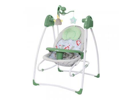 Кресло-качалка (укачивающий центр) CARRELLO Grazia CRL-7502 Jade Green зеленый