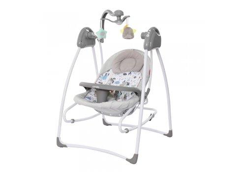 Кресло-качалка (укачивающий центр) CARRELLO Grazia CRL-7502 Lovely Grey серый