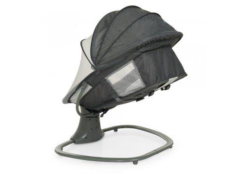 Детский укачивающий центр Mastela deluxe 8105 темно-серый с мятным