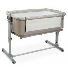 Приставная кроватка-манеж SLEEP&PLAY EL CAMINO ME 1067 BEIGE