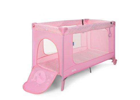 Детский манеж El Camino Safe ME 1016 Heart pink розовый