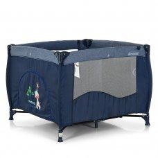 Детский квадратный манеж El Camino Arena ME 1030 Blue Len