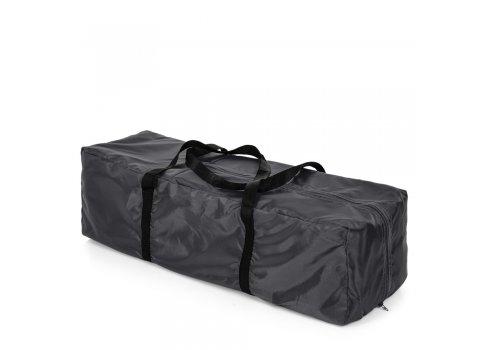 Манеж-кровать с пеленальным столиком El Camino Safe Plus ME 1054 Stars Gray серый