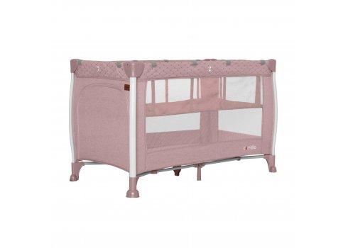 Кровать-манеж со вторым дном CARRELLO Polo+ CRL-11606 Flamingo Pink