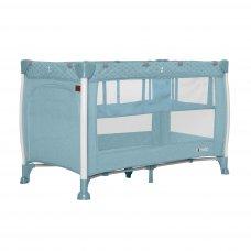 Кровать-манеж со вторым дном CARRELLO Polo+ CRL-11606 Mint Green