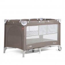 Детский манеж-кровать с дополнительным вкладышем Carello Piccolo+, CRL-9201/1 Chocolate Brown