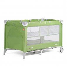 Детский манеж-кровать с дополнительным вкладышем Carello Piccolo+, CRL-9201/1 Sunny Green