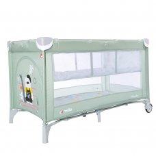 Детский манеж-кровать с вторым дном Carello Piccolo+ CRL-9201/2 Cameo Green