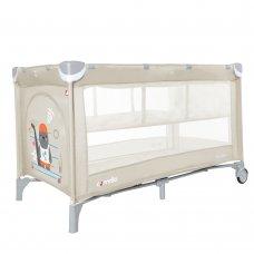 Детский манеж-кровать с вторым дном Carello Piccolo+ CRL-9201/2 Cream Beige