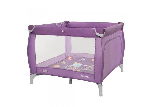 Детский манеж с прицепными кольцами Carello Grande CRL-9204/1 Orchid Purple