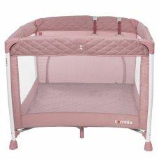 Детский квадратный манеж с прицепными кольцами Carello Cubo CRL-9205 Flamingo Pink