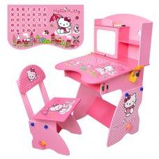 Детская парта со стульчиком Hello Kitty M 0324 розовый