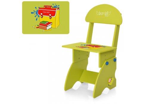 Детская парта со стульчиком Алфавит BAMBI M 0324-5 салатовый