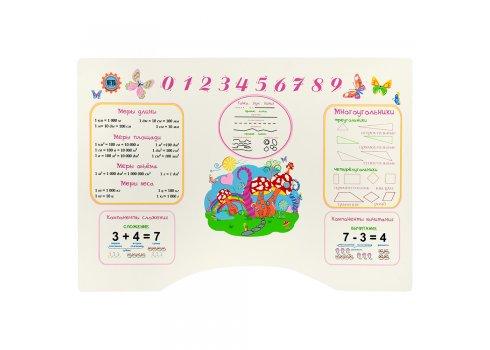 Детская парта со стульчиком Растишка, HB 2071-02-7 розовая
