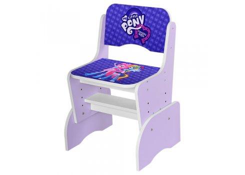 Детская парта-трансформер со стульчиком My Little Pony, WL 2071-14-2 сиреневый