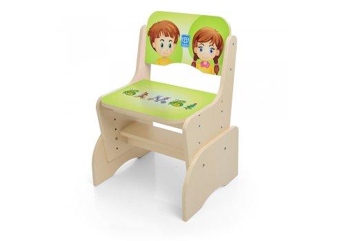 Детская парта-трансформер со стульчиком Алфавит, B 2071-17-1 венге