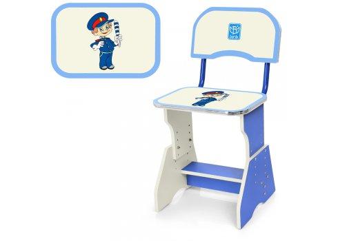 Детская парта со стульчиком Растишка, HB-2071(2)-03-7 голубой