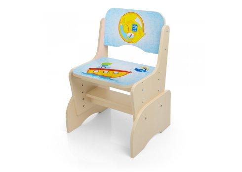 Детская парта-трансформер со стульчиком Пират, B 2071-2-1 венге
