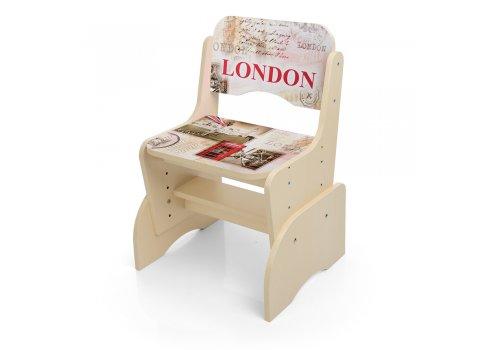 Детская парта-трансформер со стульчиком Лондон, B 2071-26-3 венге