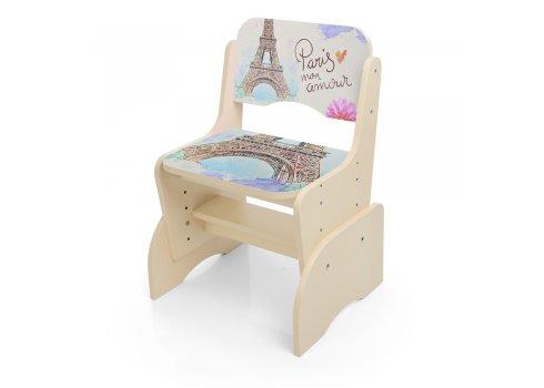 Детская парта-трансформер со стульчиком Париж, B 2071-32-1 венге