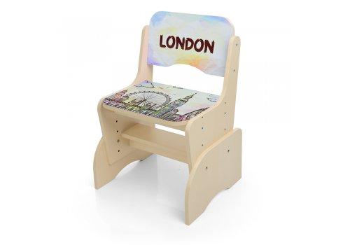 Детская парта-трансформер со стульчиком Лондон, B 2071-37-1 венге