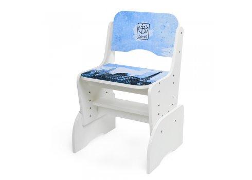Детская парта-трансформер со стульчиком Достопримечательности Bambi B 2071-40-1(UA) белый