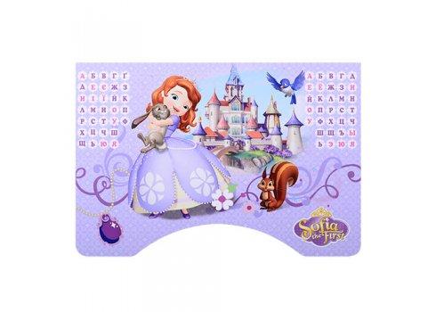 Детская парта-трансформер со стульчиком Принцесса София, W 2071-40-3 фиолетовый