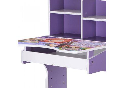 Детская парта-трансформер со стульчиком София Прекрасная Bambi W 2071-41-3(UA) фиолетовый