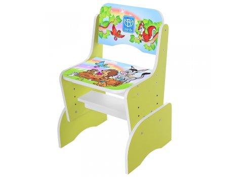 Детская парта-трансформер со стульчиком Алфавит , B 2071-43-3 салатовый