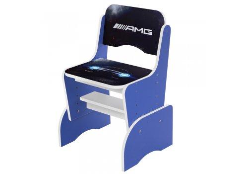 Детская парта-трансформер со стульчиком AMG W 2071-61-5 синий