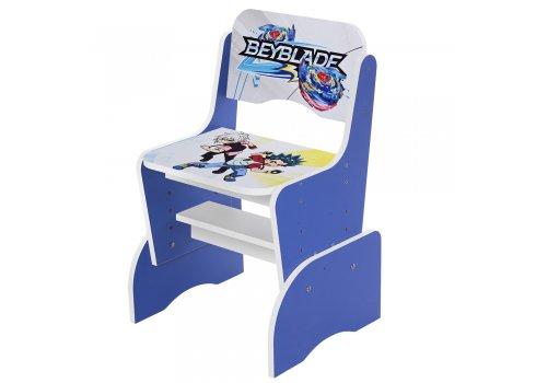 Детская парта-трансформер со стульчиком BBL, W 2071-62-6 синий