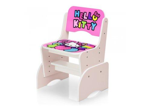 Детская парта-трансформер со стульчиком Hello Kitty W 2071-64-2 розовый