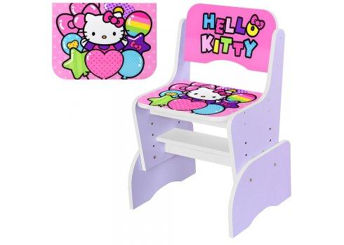 Детская парта-трансформер со стульчиком Hello Kitty W 2071-64-3 сиреневый