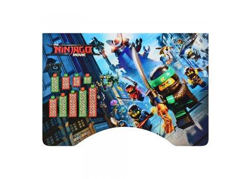 Детская парта-трансформер со стульчиком Ninjago W 2071-66-1 венге