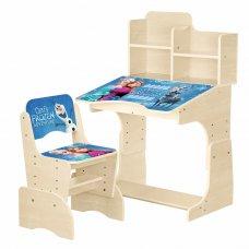 Детская парта-трансформер со стульчиком Frozen W 2071-69-1 венге