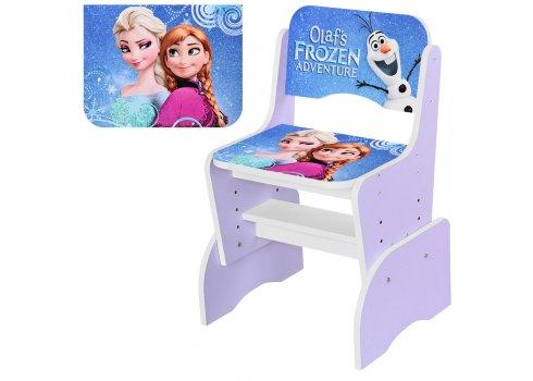 Детская парта-трансформер со стульчиком Frozen Холодное сердце Bambi W 2071-69-4 фиолетовый