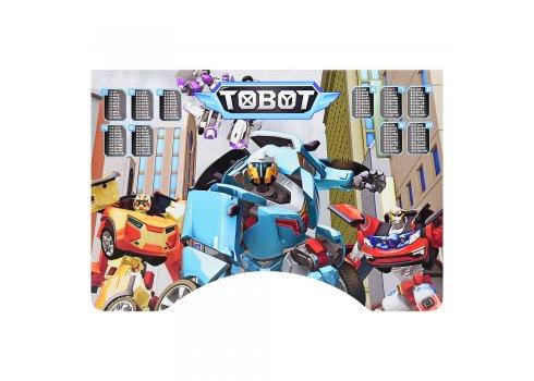 Детская парта-трансформер со стульчиком Tobot W 2071-79-3 свенге светлый