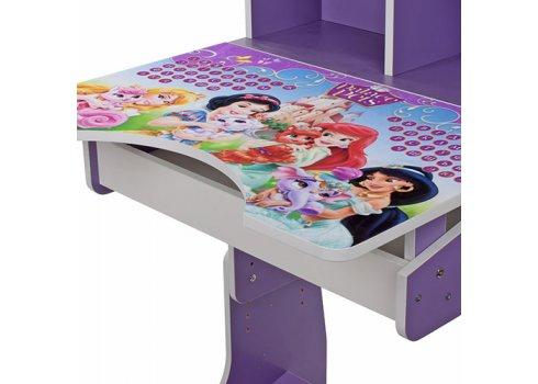 Детская парта-трансформер со стульчиком Принцессы Disney W 2071-8-2 фиолетовый