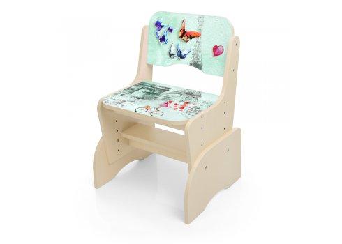 Детская парта-трансформер со стульчиком Париж Bambi B 2071-81-5 венге