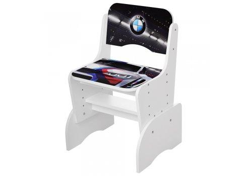 Детская парта-трансформер со стульчиком машина BMW Bambi W 2071-84-1 белый