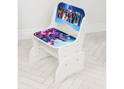 Детская парта-трансформер со стульчиком Marvel Bambi W 2071-85-1 белый