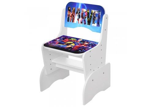 Детская парта-трансформер со стульчиком Marvel Bambi W 2071-86-1 белый