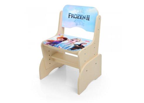 Детская парта-трансформер со стульчиком Frozen Холодное сердце Bambi W 2071-87-1(UA) венге